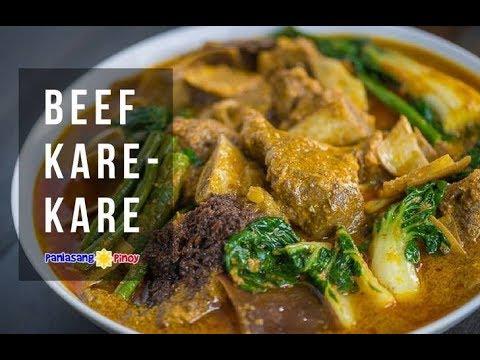 Beef Short Rib Kare Kare Panlasang Pinoy