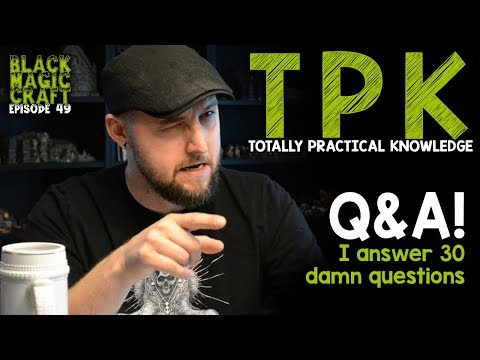 Special Episode: Your Questions Answered! (Black Magic Craft Episode 049)