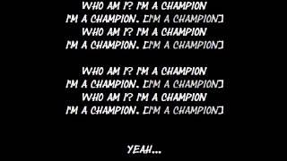Stic - Champion (W/Lyrics)