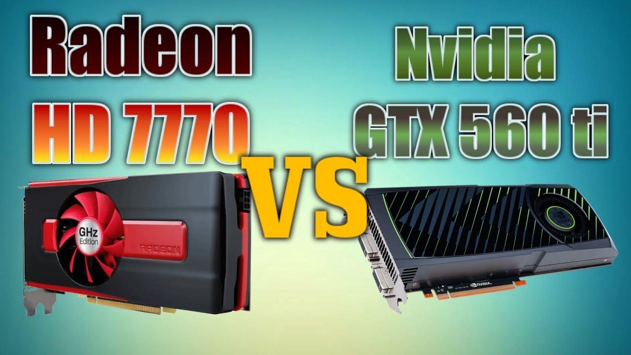 £30/$40 GPU Battle Radeon HD 7770 VS Nvidia GTX560 ti