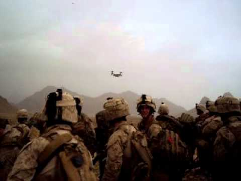 v-22 Osprey's in Afghanistan Helmand province