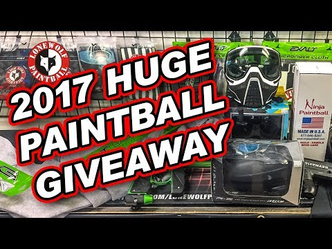 2017 HUGE Holiday Gift Guide & GIVEAWAY | Lone Wolf Paintball Michigan