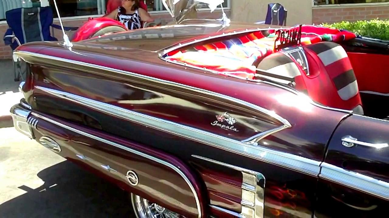 Beautiful 1958 Chevy Impala Convertible Youtube 1957