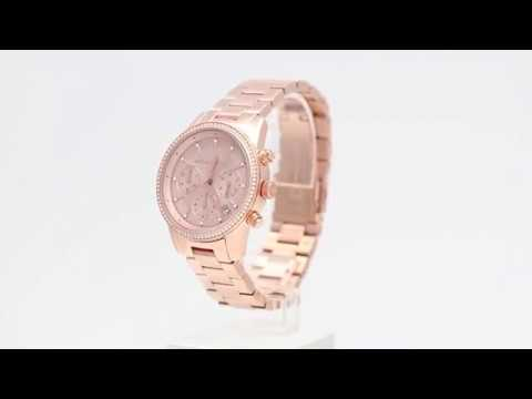 0ac36d19e93b Michael Kors Ritz MK6357 - Watchia.com - YouTube