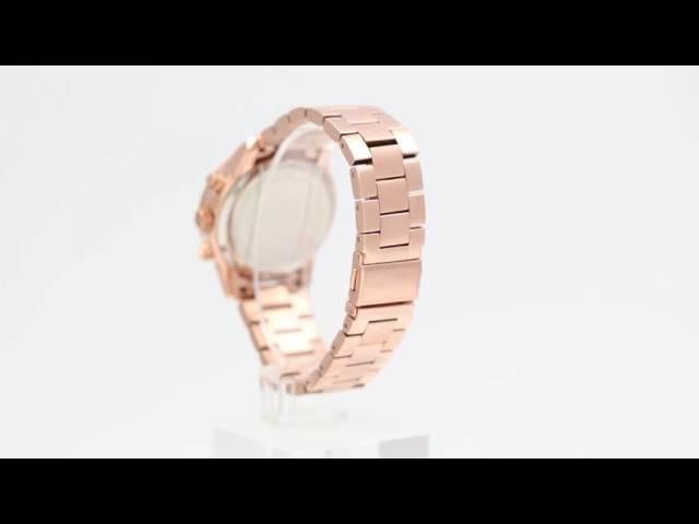 772ce29521ea (VIDEO Review) Michael Kors Women s Ritz Silver Watch MK6428