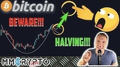 PUMP or DUMP? IS BITCOIN IS RIGHT NOW ON THE HALVING LAUNCHPAD!?