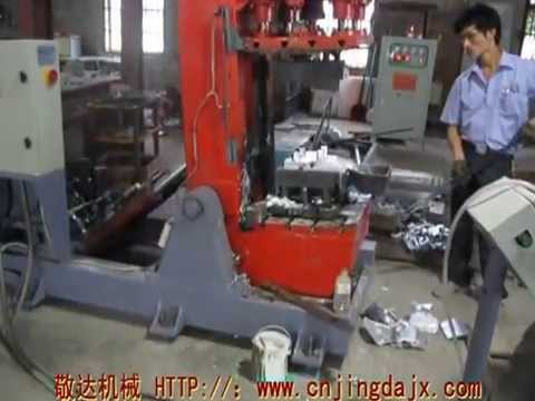 Aluminum alloy gravity  casting machine
