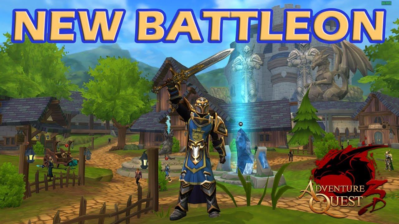 AQ3D (OPEN-BETA) - New Battleon e o Shop Secreto! (PT-BR)