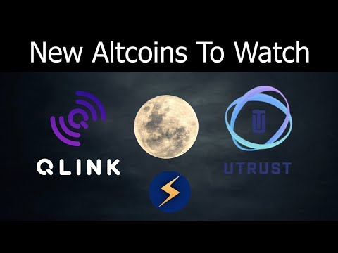 Top Brand New Altcoin Cryptocurrency To Watch in 2018 - UTRUST & QLINK