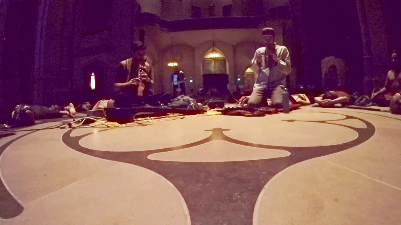 Quechua Invocation (Yoga on the Labyrinth with Madhu - Live from Grace  Cathedral 10/23/18)