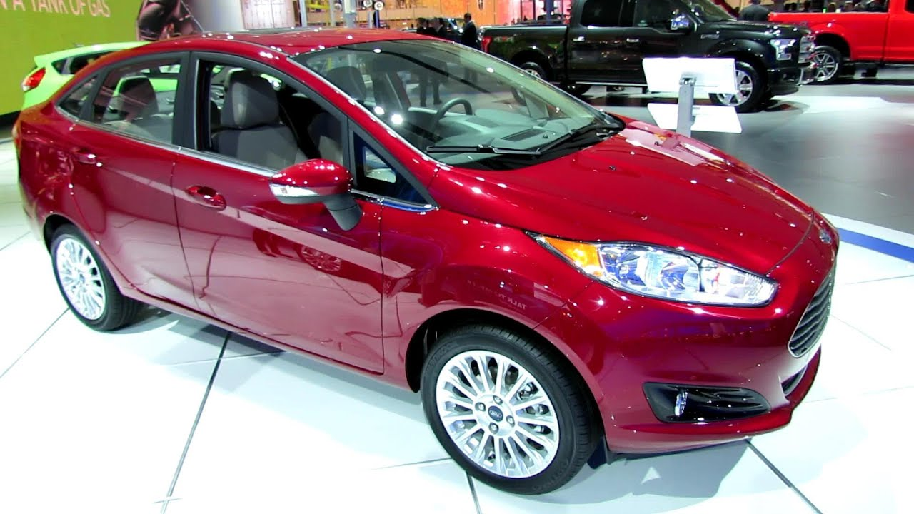 2014 Ford Fiesta Sedan Titanium