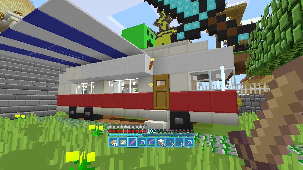 Minecraft xbox 360 seed gcp lord cesar ep29 con mods for Casa moderna minecraft xbox 360