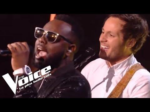 Maître Gims Et Vianney €� La Même | The Voice France 2018 | Finale