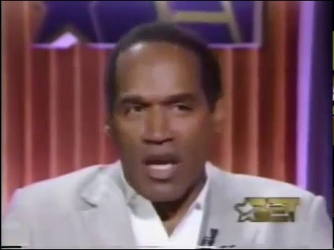 O.J. Simpson, First TV Interview Not long after his acquittal