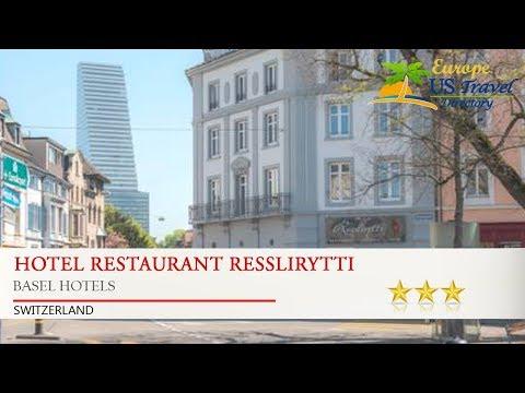 Hotel Restaurant Resslirytti - Basel Hotels, Switzerland