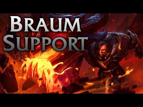 League of Legends | Dragonslayer Braum Support - Full Game Commentary
