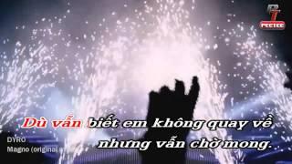 [Karaoke] Nỗi nhớ nơi con tim mồ côi - Ưng Hoàng Phúc