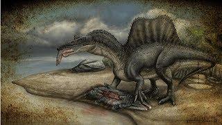 Spinozaur - kolczasty jaszczur