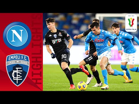 Napoli 3-2 Empoli | Napoli push past Empoli to quarter-final! | Coppa Italia 2020/21