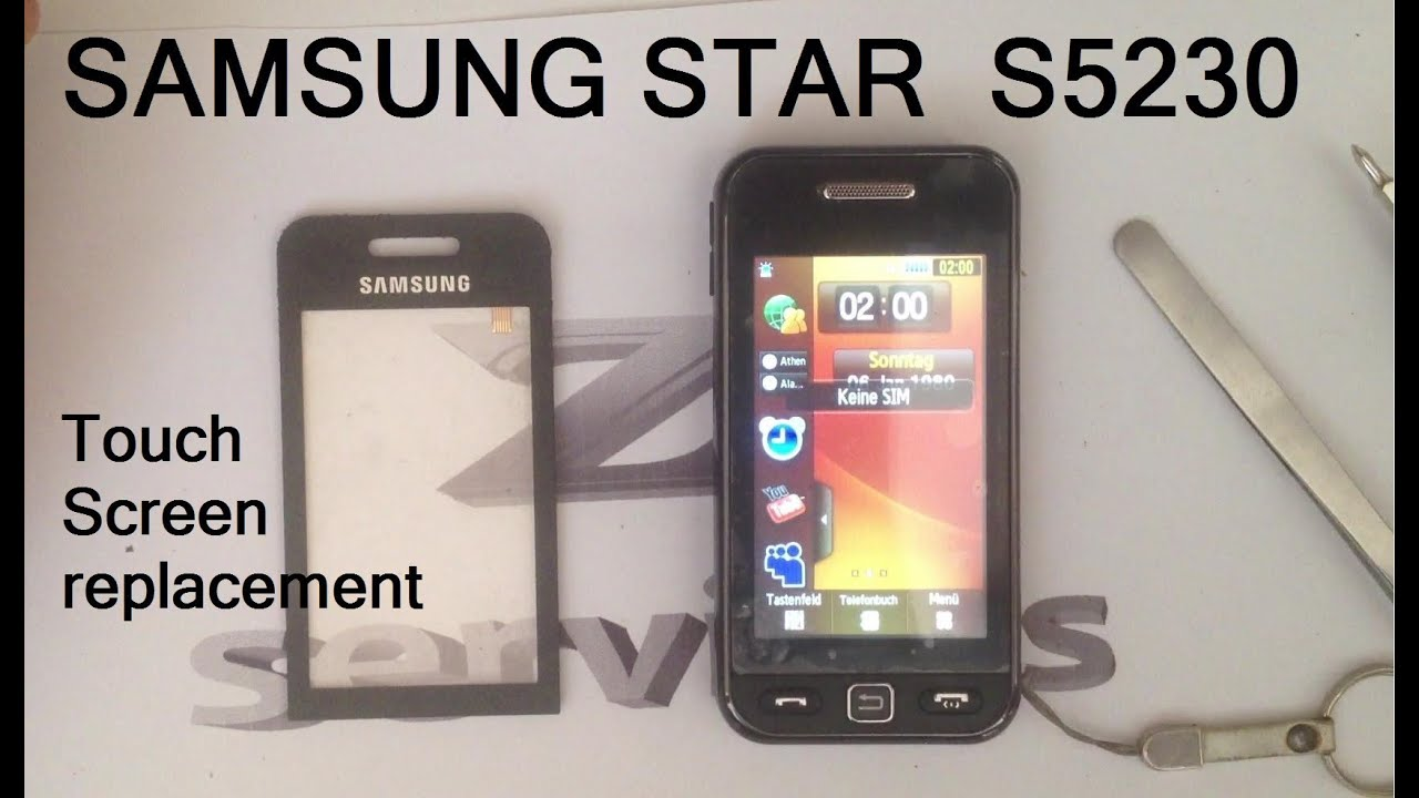 samsung star s5230 how to change digitizer touch. Black Bedroom Furniture Sets. Home Design Ideas