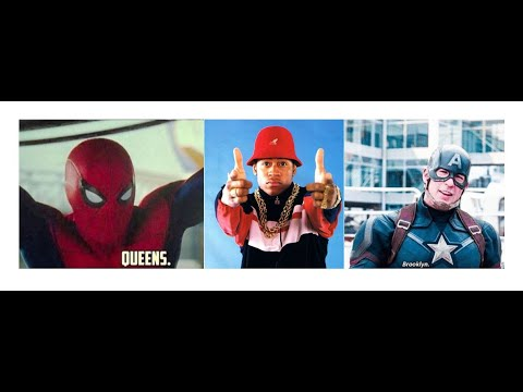 Super Spidey Represents Queens, Cap's Raised Out In Brooklyn - YouTube OQ-83