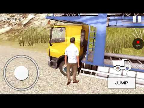 Truck car transport-gameplay-cargo (look yah TV, entertainment)