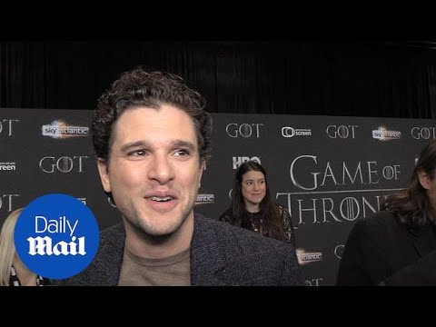 Kit Harrington And Sophie Turner Attend Game Of Thrones Red Carpet