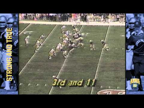 1989 Fiesta Bowl (ND vs. West Virginia) - 125 Years of Notre Dame Football - Moment #125