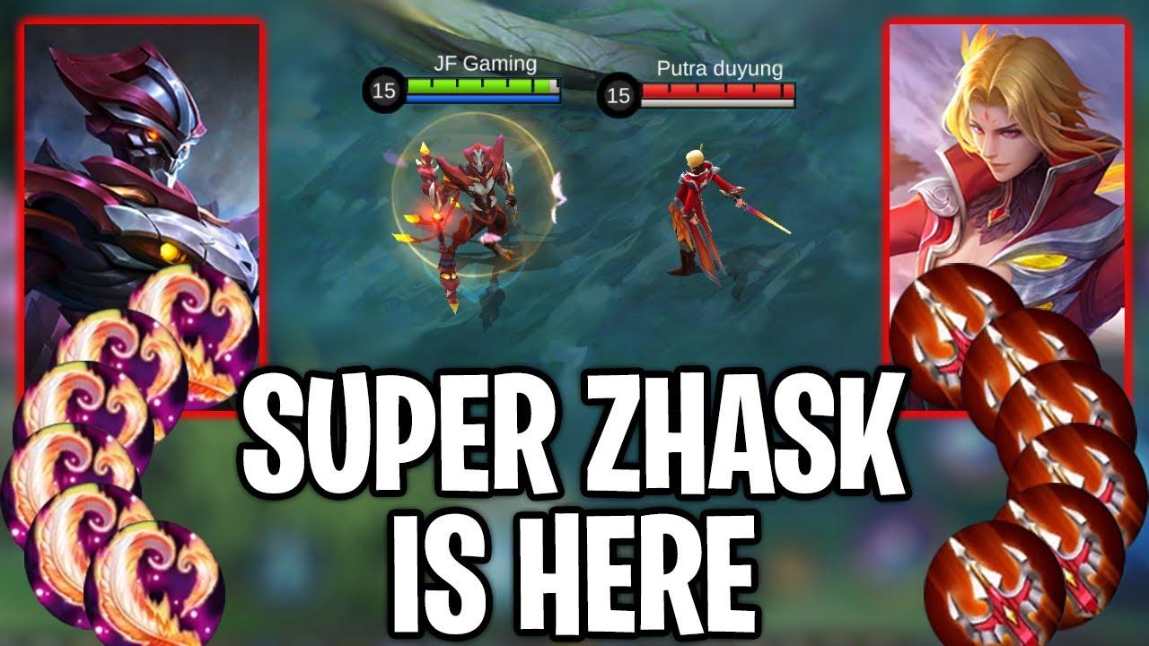 Zhask Vs Ling, 100% Kamu Kaget Melihat Kekuatan Ini? Mobile Legends