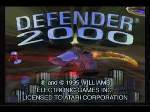 Defender 2000 Atari Jaguar Video Game Long Play 1995 Shooter Shmup
