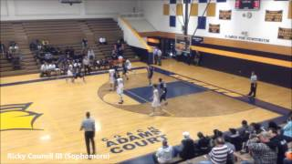 2018 NC Combo Guard Ricky Council III Northern Durham Sophomore Highlights