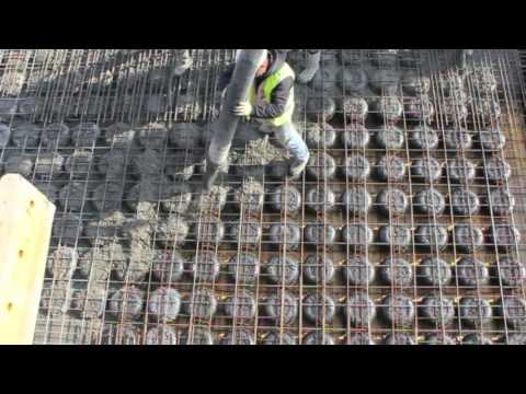 Cobiax Installation and Concrete pouring