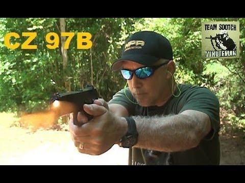 The CZ 97B 45 ACP Pistol Rocks!