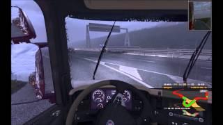 Gameplay: Euro truck simulator 2 gold edition (firaxpage)