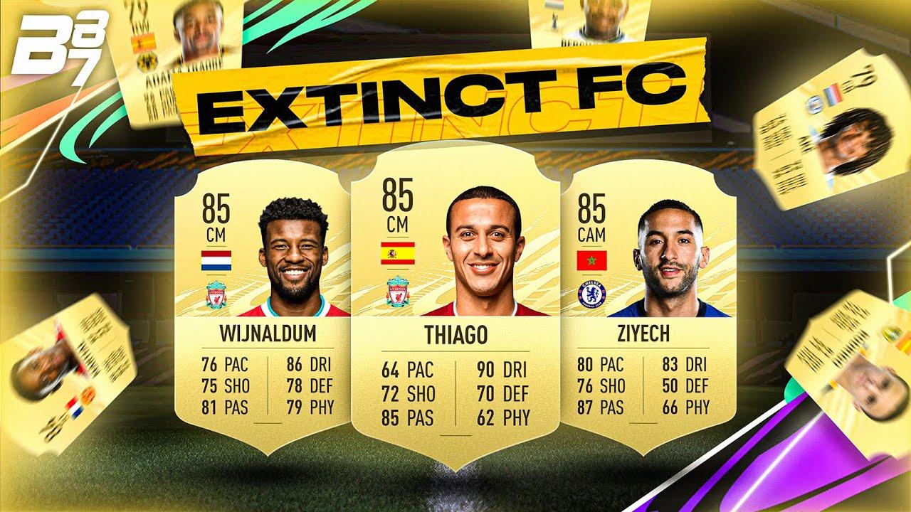 EXTINCT FC FULL SQUAD BUILDER! | FIFA 21 ULTIMATE TEAM
