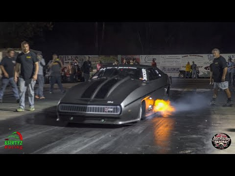 Street Outlaws Jeff Lutz  Dusts Off Mad Max And Goes 3 8 Sec Eight Mile At 189 MPH.  (4k)