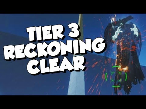 Tier 3 Reckoning Clear! [Destiny 2 Jokers Wild] thumbnail