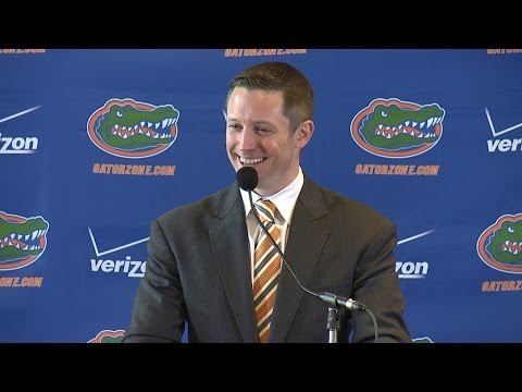 Florida Basketball: Michael White Introductory Press Conference 5-11-15