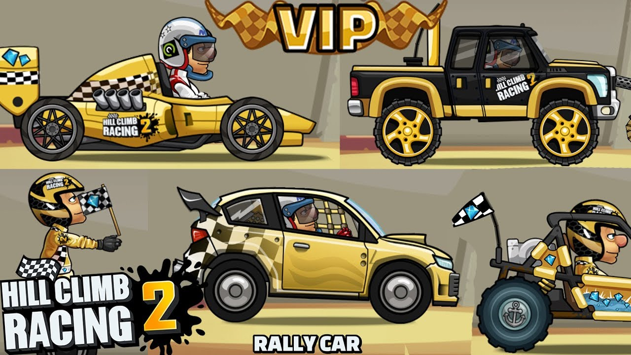 New Cars Hill Climb Racing