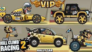 Hill Climb Racing 2 NEW UPDATE - VIP - 1.8.0 Rally CAR | GamePlay