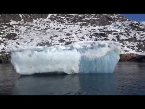 Getting Close To Iceberg In Greenland
