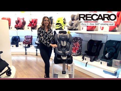 Recaro Zero.1 Isize Car Seat Store Demo