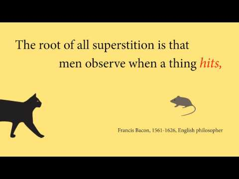 Three Quotations about Superstition
