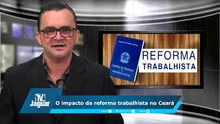O impacto da reforma trabalhista no Ceará
