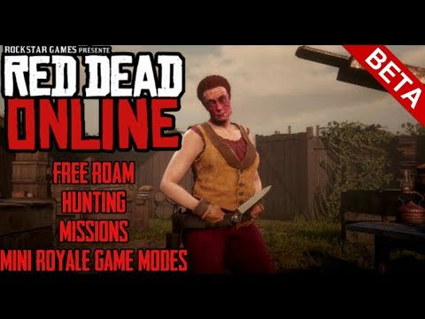 red-dead-redemption-2-  -online-beta-game-play-  -free-roam-,-hunting,-mini-royale-game-modes!