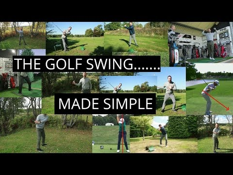 HOW TO MAKE THE GOLF SWING SIMPLE AND BASIC