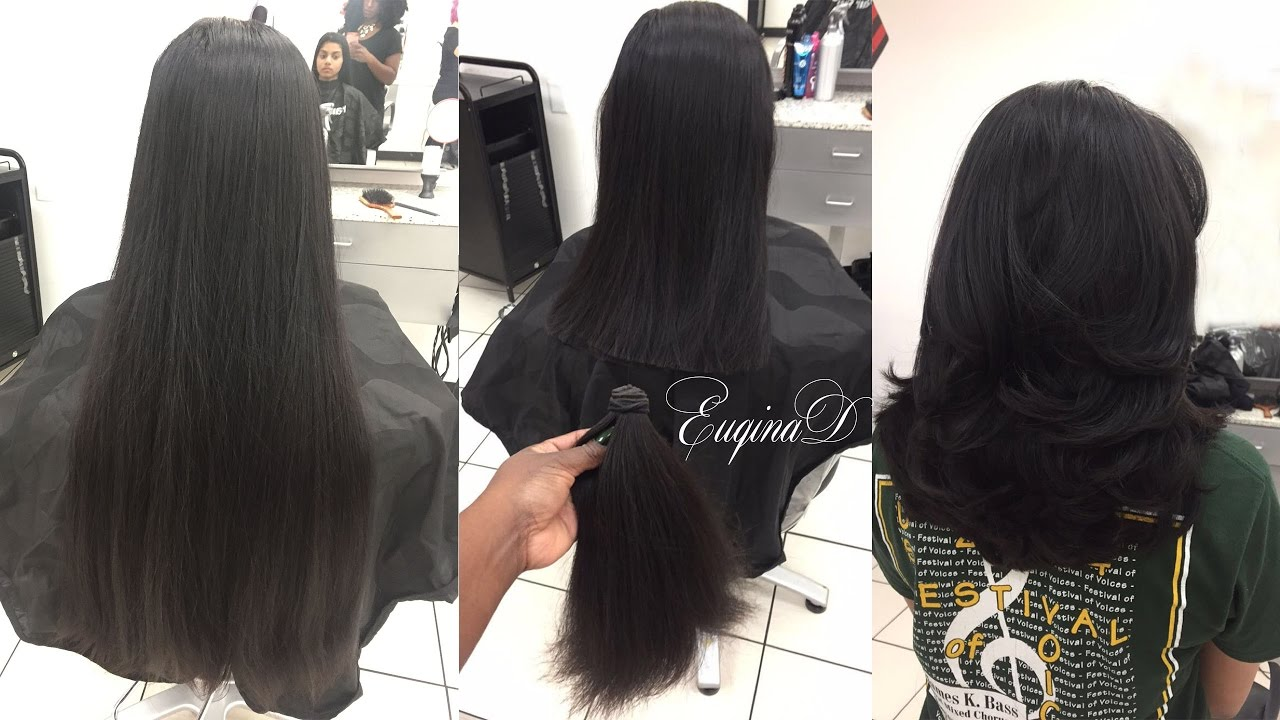 Hair Style U Cut: Layered Haircut After Locks Of Love Donation Thick Indian