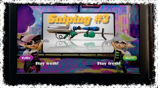 Splatoon Ranked Battle Splatterscope Sniping #3