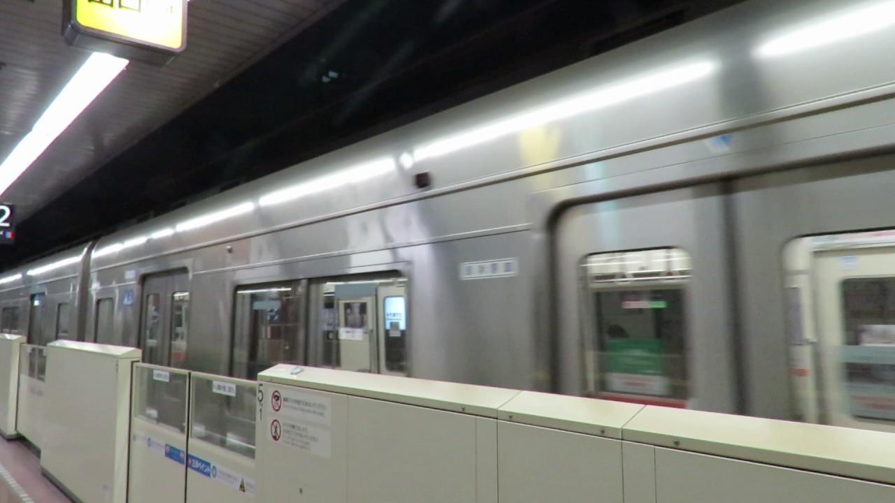 福岡市営地下鉄 呉服町駅 姪浜駅方向 進站 - YouTube