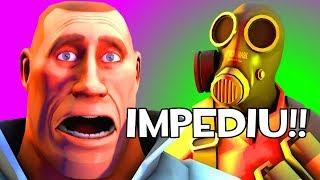 Impediram MEUS MARKET GARDENERS no Team Fortress 2l!